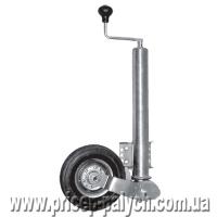 Автоматическое телескопическое опорное колесо для прицепа