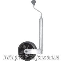 Телескопическое опорное колесо для прицепа