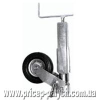 Телескопическое опороное колесо для тяжёлого прицепа